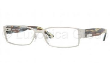 584fd5ebd8df0 Versace VE1158 SV Prescription Eyeglasses - Silver Frame   52 mm  Prescription Lenses