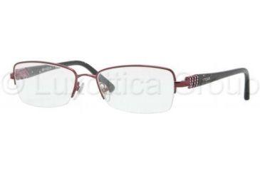 e55f2ac1d6 Vogue VO3813B Single Vision Prescription Eyeglasses 812-5117 - Bordeaux  Frame