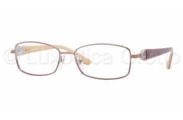 59b87db8cf3 Vogue VO3845B Eyeglass Frames 896-5216 - Brown   Pink Frame