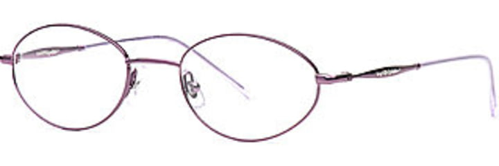 Laura Ashley Petula SELA PETU00 Progressive Prescription Eyeglasses - Purple Orchid SELA PETU005335 WN
