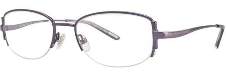 Nina Ricci NR2289 Single Vision Prescription Eyeglasses - Frame Plum NR2289F06