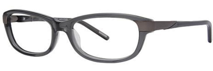 Nina Ricci NR2570F Bifocal Prescription Eyeglasses - Frame Translucent Grey, Size 53/16mm NR2570F04