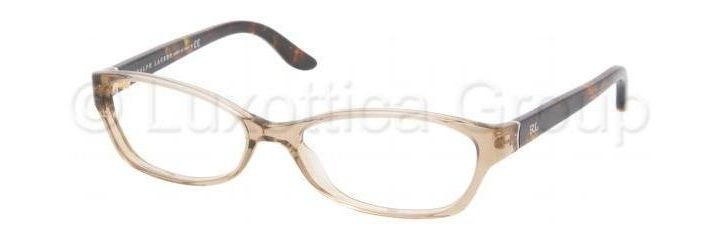 Ralph Lauren Eyeglass Frames RL6068 5217-5315 - Mud Transparent