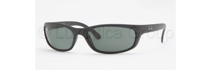 Ray-Ban RB4115 Bifocal Sunglasses - Matte Black Frame / 57 mm Prescription Lenses, 601S71-5716
