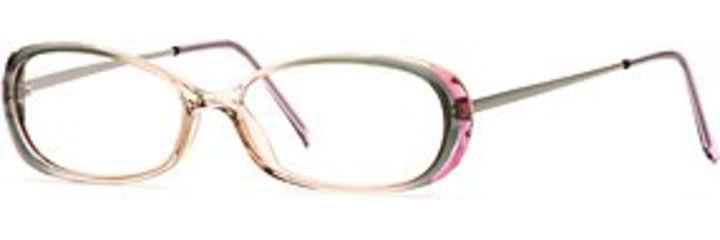 Signature Collections Dainty SESC DAIN00 Single Vision Prescription Eyewear - Hazel Mist SESC DAIN005135 GN