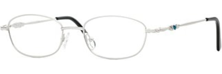 Signature Collections Jennings SESC JENN00 Progressive Prescription Eyeglasses - Silver SESC JENN005240 SV