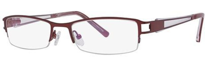 Visions 174 Progressive Prescription Eyeglasses - Frame Burgundy, Size 52/18mm VIVISION17404