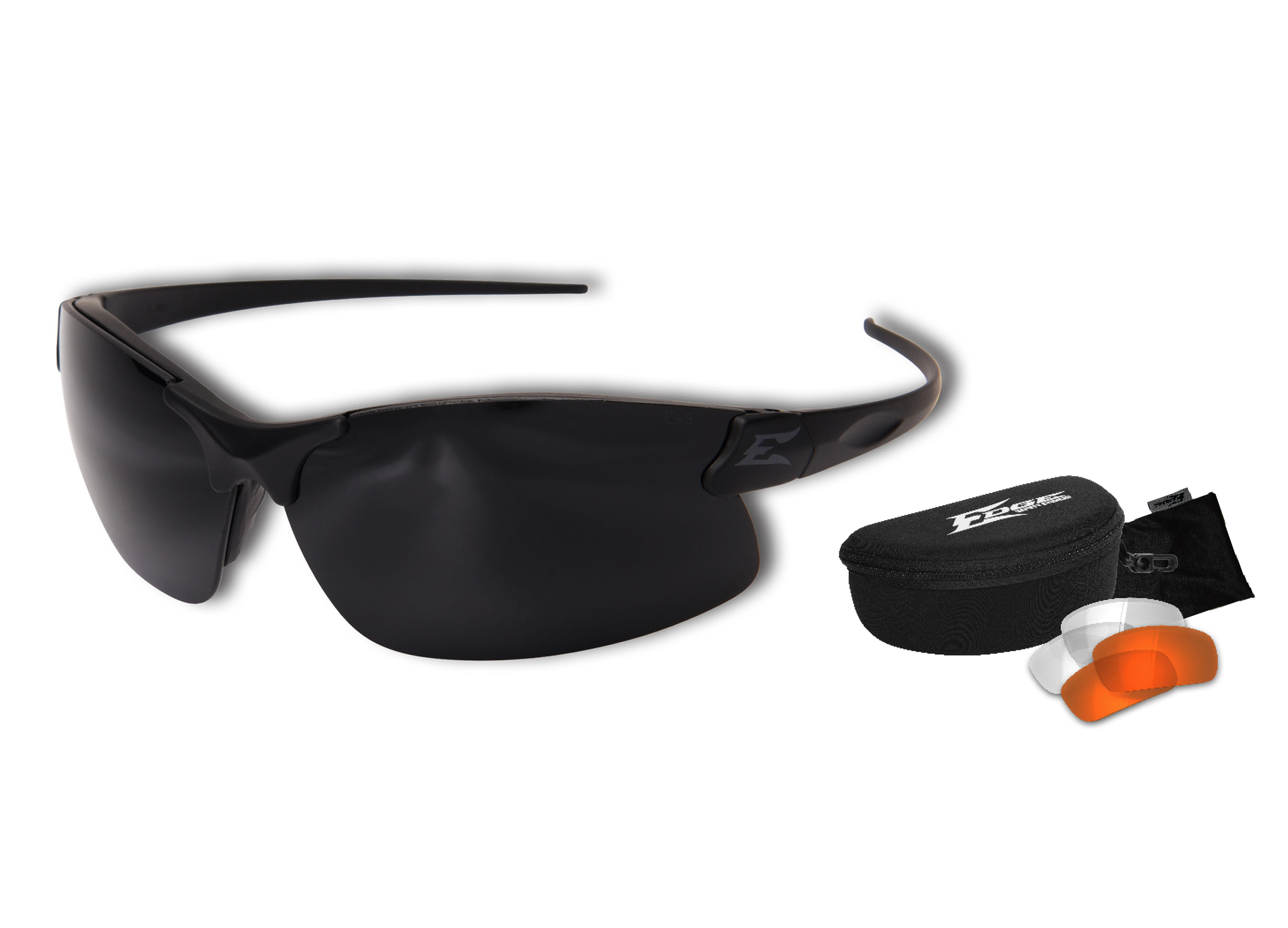 8f122ffe43 Edge Tactical Sharp Edge Thin Temple 3-Lens Kit FREE S H SSE3K-1TT. Edge  Tactical Safety Glasses.