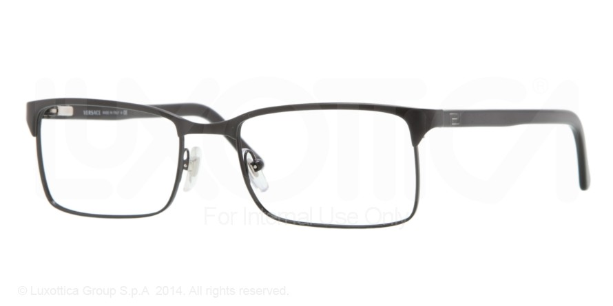 299eb70540 Versace Eyeglasses VE1174 with No-Line Progressive Rx Prescription Lenses .  Versace Progressive Eyeglasses for Men.