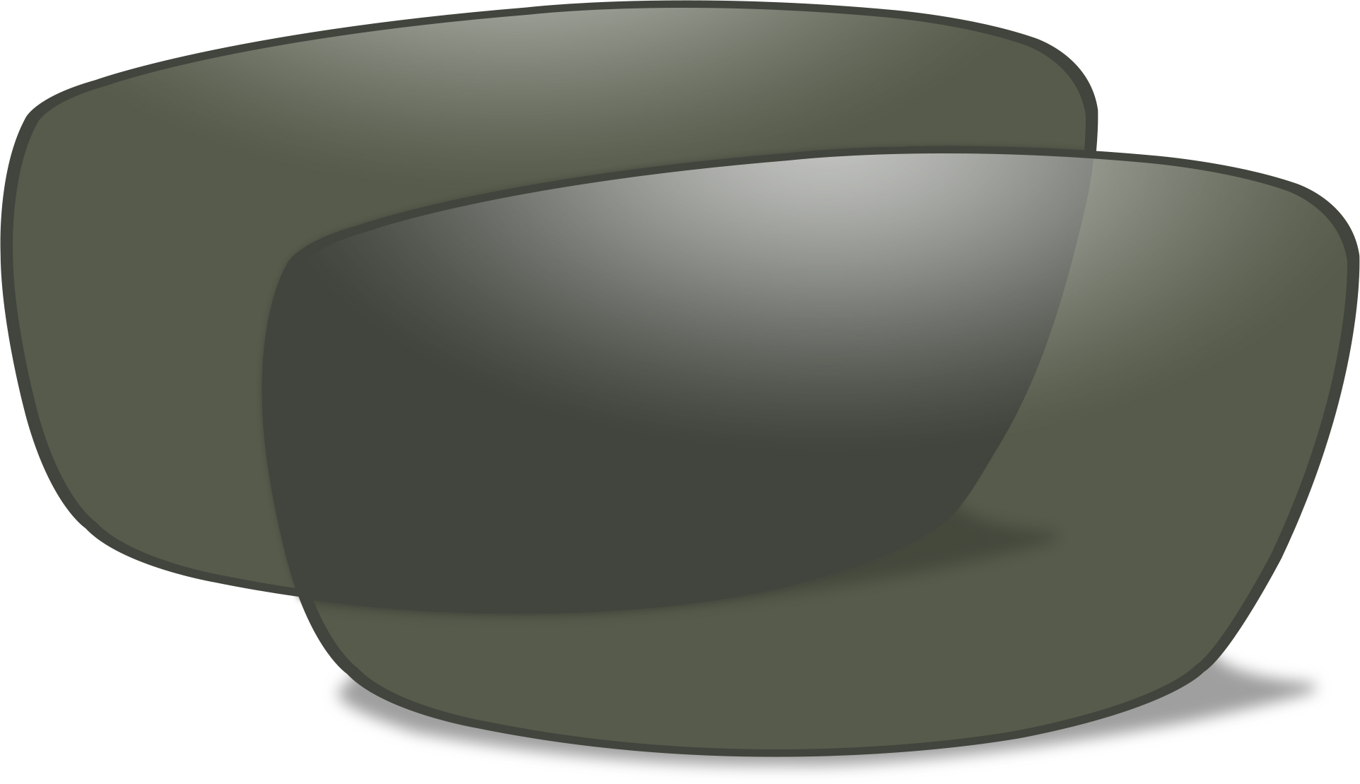 4e02e73949d30 Wiley X P-17 Sunglasses Extra Replacement Lenses FREE S H P-17P